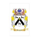 Ruggier Sticker (Rectangle 50 pk)