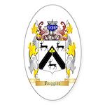 Ruggier Sticker (Oval)