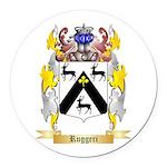 Ruggeri Round Car Magnet