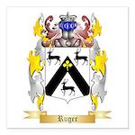 Ruger Square Car Magnet 3