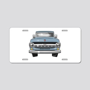 1957 Ford Truck Aluminum License Plate
