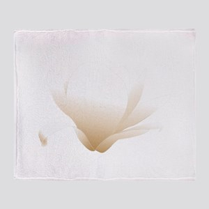 Magnolia white Patricia 03r Throw Blanket