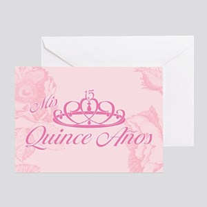 Quinceanera greeting cards cafepress quinceanera greeting card m4hsunfo Image collections