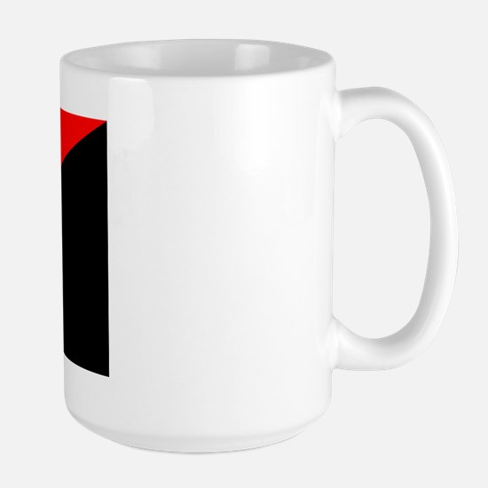 Anarcho-Syndicalist Flag Large Mug