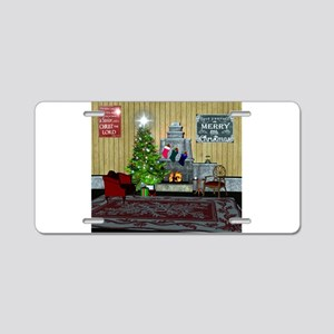 Christmas living Aluminum License Plate