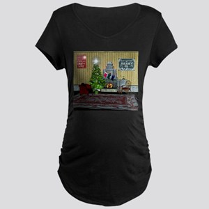 Christmas living Maternity T-Shirt