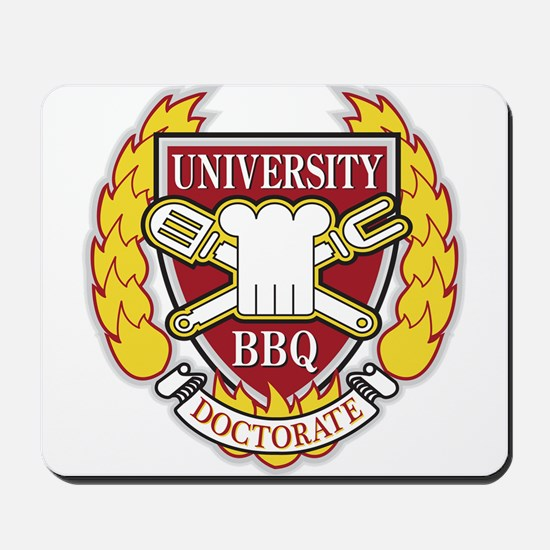 BBQ doctorate Mousepad