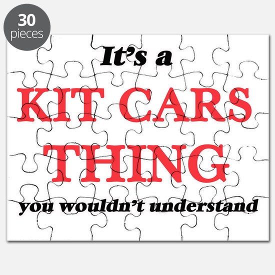 It's a Kit Cars thing, you wouldn't Puzzle