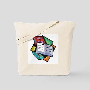 Textbooks Tote Bag