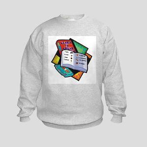 Textbooks Kids Sweatshirt