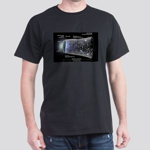 Our Universe Explained Dark T-Shirt
