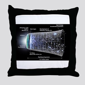 Our Universe Explained Throw Pillow