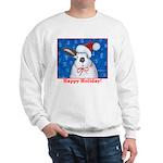 Santa Rabbit Sweatshirt