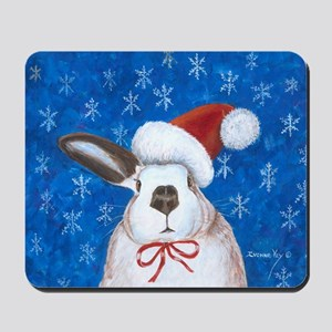 Santa Rabbit Mousepad