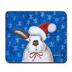 Santa Rabbit Mousepad
