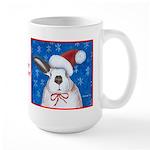 Santa Rabbit Large Mug