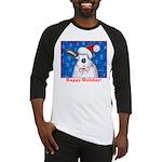 Santa Rabbit Baseball Jersey