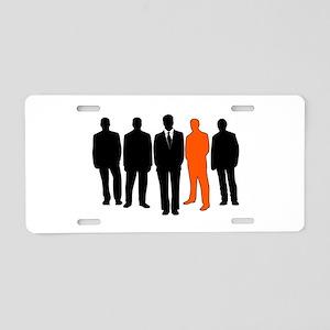 Men exception Aluminum License Plate