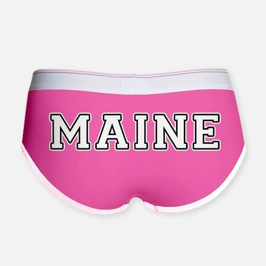 Maine Women's Boy Brief