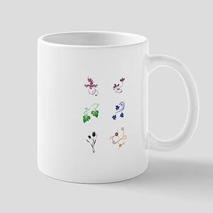 Floral Design Elements graphic Mugs