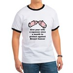 Breast Cancer Squeeze Ringer T