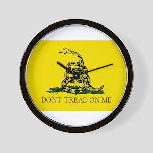 Gadsden Flag - Don't tread on me Wall Clock