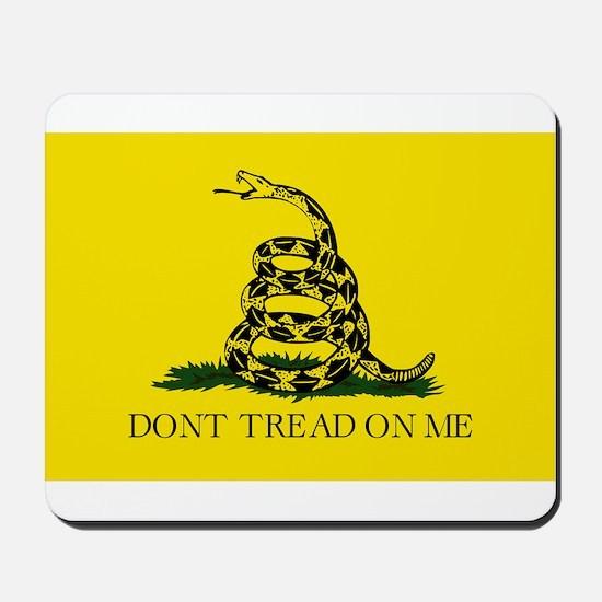 Gadsden Flag - Don't tread on me Mousepad