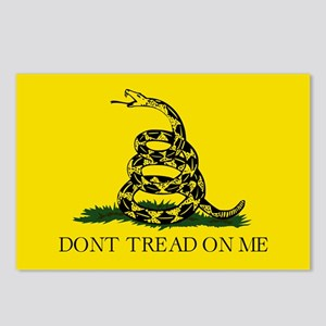 Gadsden Flag - Don't trea Postcards (Package of 8)