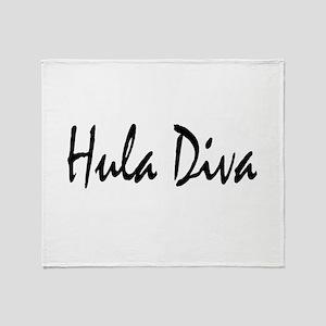 hula2 Throw Blanket