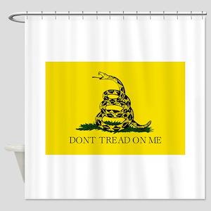 Gadsden Flag - Don't tread on me Shower Curtain