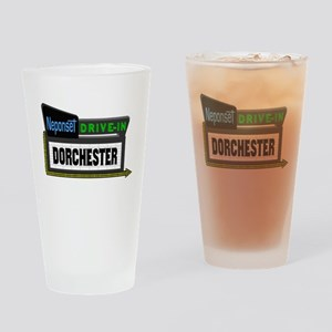 Neponset Drive-In Drinking Glass