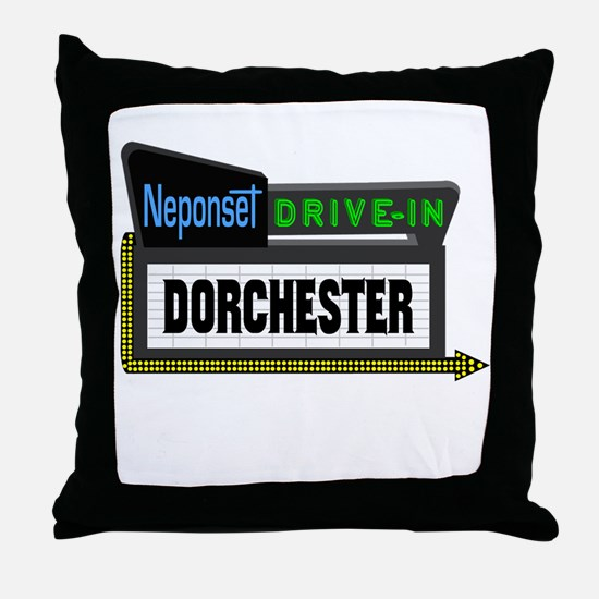 Neponset Drive-In Throw Pillow