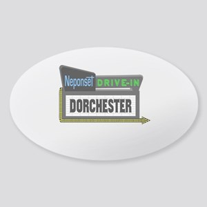 Neponset Drive-In Sticker (Oval)