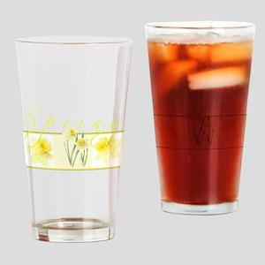 Spring Drinking Glass