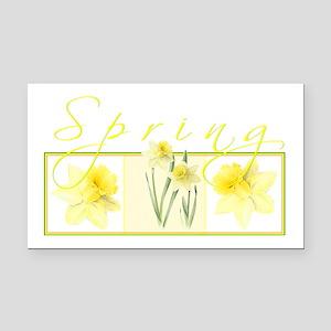 Spring Rectangle Car Magnet