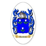 Ruebens Sticker (Oval 10 pk)