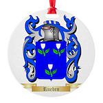 Rueben Round Ornament