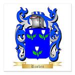 Rueben Square Car Magnet 3