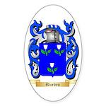 Rueben Sticker (Oval 10 pk)