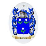 Rueben Oval Ornament