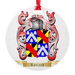 Rudland Round Ornament