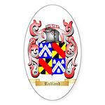 Rudland Sticker (Oval 10 pk)