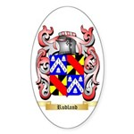 Rudland Sticker (Oval 50 pk)
