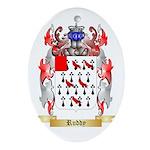 Ruddy Oval Ornament