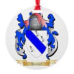 Rucker Round Ornament