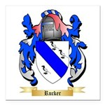 Rucker Square Car Magnet 3