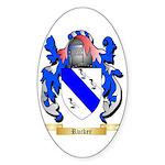 Rucker Sticker (Oval 10 pk)