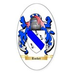 Rucker Sticker (Oval 50 pk)