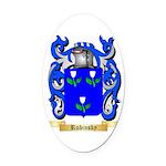 Rubinsky Oval Car Magnet