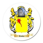 Rubia Round Car Magnet